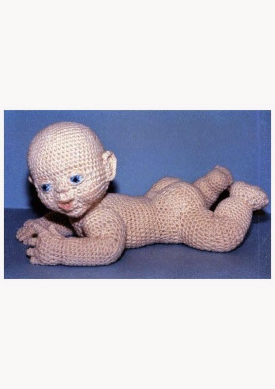 YarnArts 1003 Baby Beau doll