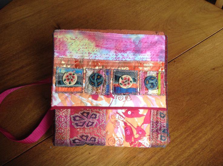 Patchwork bag. Kay Horne