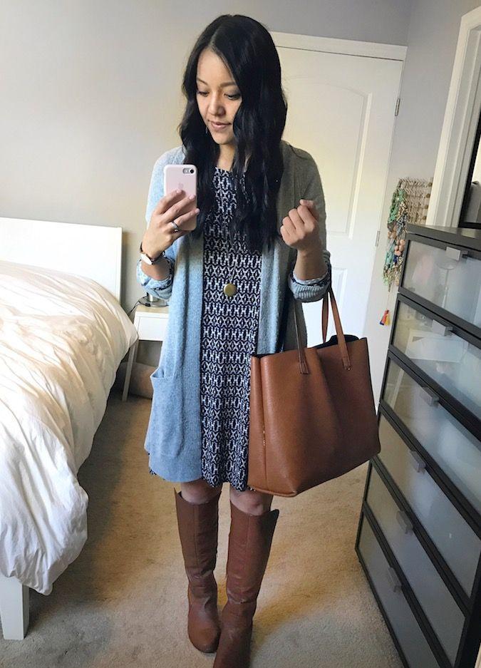 Instagram Roundup # 16: GROSSE Old Navy Jeans und $ 10 Dress + Coats + More