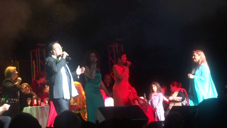AL BANO AND ROMINA POWER REUNITED AT TROPICANA ATLANTIC CITY 4/26/2014