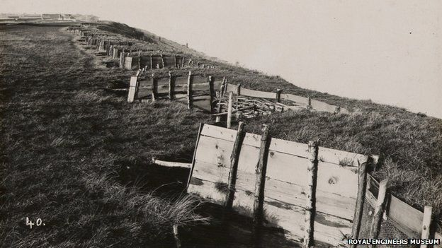 Kent archaeologists discover Sheppey WW1 trenches.