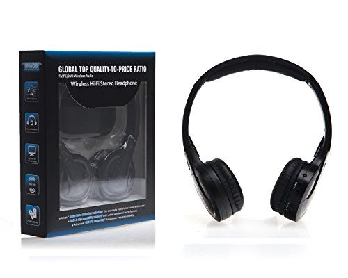 Wireless TV Headphones, [Upgraded With Auto Scan & Auto Off Features] Jelly Comb Wireless Stereo Headphone Headset Earphone for TV, Desktop, PC, Laptop, Tablet, MP3/MP4 Player, CD and DVD Players and All Other Audio Devices with 3.5mm Audio-out Jack Jelly Comb http://www.amazon.com/dp/B00NXC16HI/ref=cm_sw_r_pi_dp_g1GEub0XA8ZKV dad