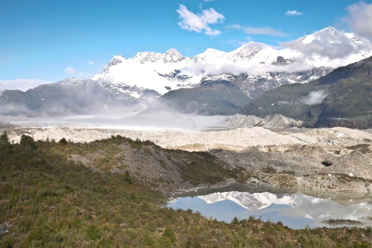 Glacier of Puerto Rio Tranquillo