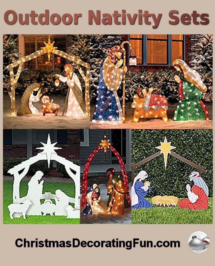 Living Nativity Ideas: 25+ Unique Nativity Sets Ideas On Pinterest