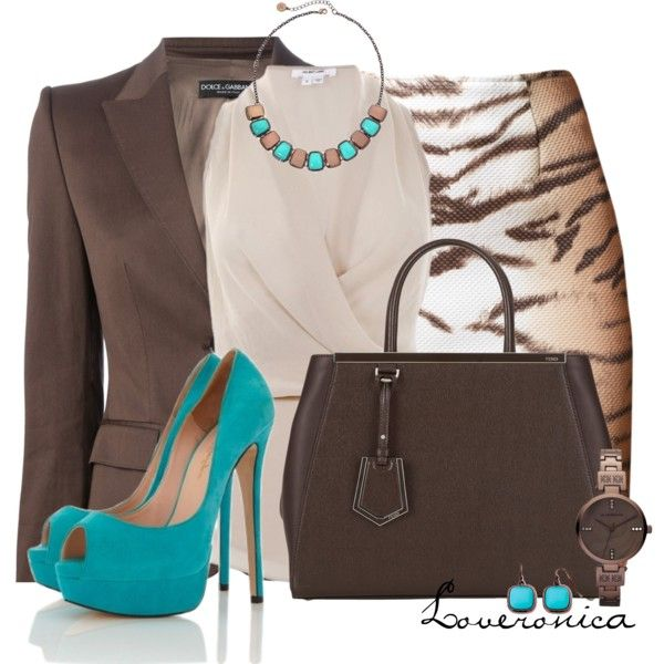 Liz Claiborne Jewelry by loveronica on Polyvore featuring Helmut Lang, Dolce&Gabbana, Fendi and Liz Claiborne