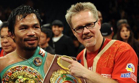 "Roach ""I have a good game plan for Manny, I've altered the game plan some over the last five Years"""