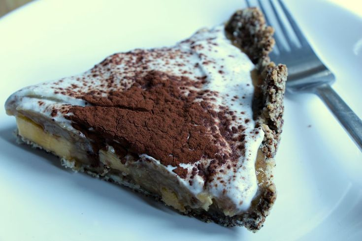 Gateau anglais banoffee pie