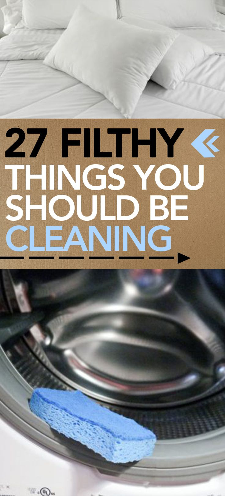27 Filthy Things You Should Be Cleaning -