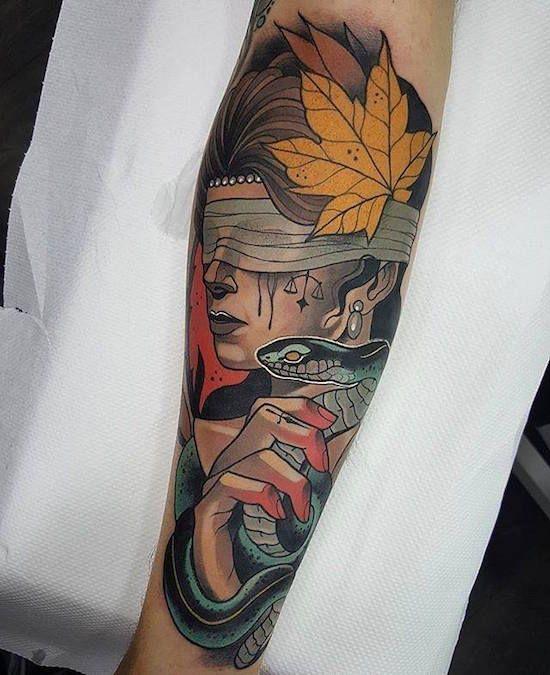 Pin by Andrés Jiménez on Random | Neo traditional tattoo ...
