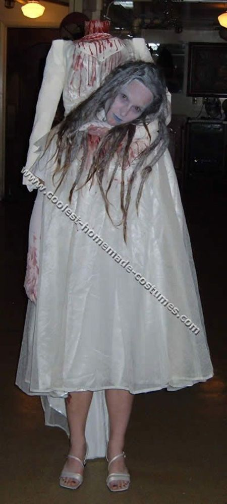 29 most pinteresting halloween costume ideas the will scare the hell out of you - Scary Halloween Ideas