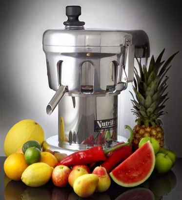 The Nutrifaster N450 Juicer is the best commercial juicer...on my dream list for my juice bar :)