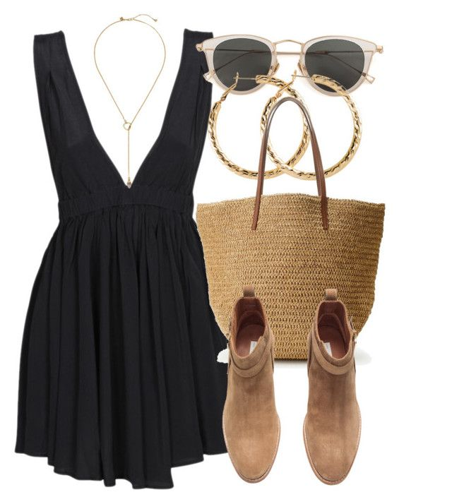 Untitled #6615 by laurenmboot on Polyvore featuring polyvore, fashion, style, may, H&M, J.Crew, Zimmermann, Issey Miyake and clothing