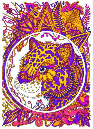 My coloring book #coloring #coloringbook #coloringbookforadults #cat