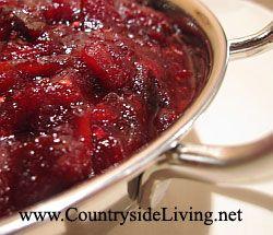Красный ягодный соус к мясу и индейке. Соус из клюквы с курагой и карри