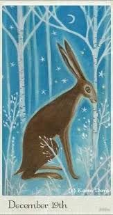 Image result for primitive art painting rabbit