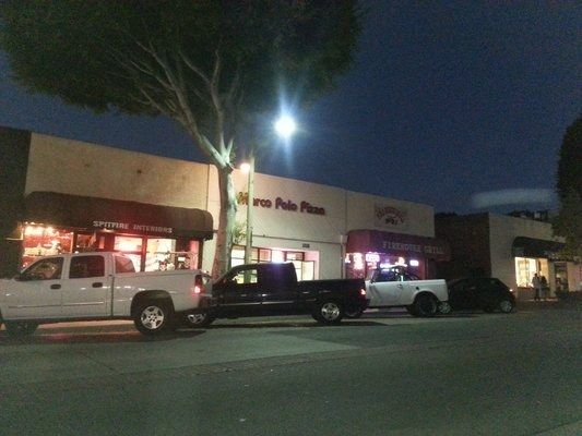 Mom-and-pop spot Marco Polo Pizza has been on this block in Whittier, CA for 25 years.