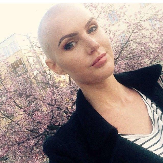 ️ ️ ️ ️ ️ Bald Girls Mrs Burgess Tank Instagram Photo