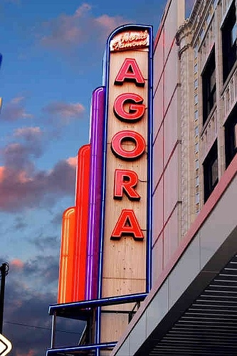 The World Famous Cleveland Agora Theatre and Ballroom by cleveland agora, via Flickr