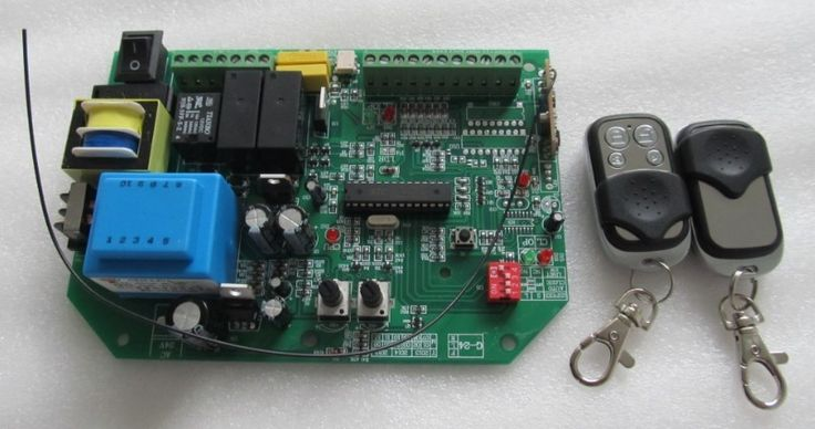 AC sliding gate opener control board with 2pcs remote control,learning code #shoes, #jewelry, #women, #men, #hats