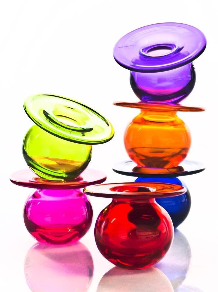 New spring 2013 collection. Boblen Candy by Finn Schjøll for Magnor Glassverk