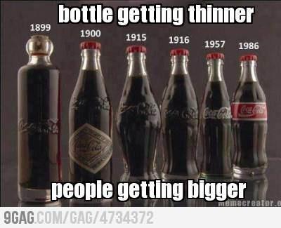 The Coca-Cola Paradox: History, Pop Bottle, Coke Bottle, Vintage Bottle, Cocacola, Old Bottle, Sodas Bottle, Coca Cola Bottle, Evolution