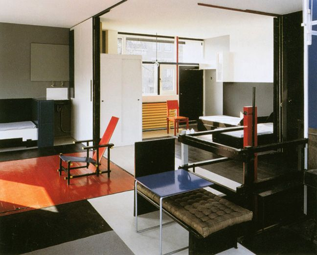 Fancy Shroder House by Gerrit Rietveld