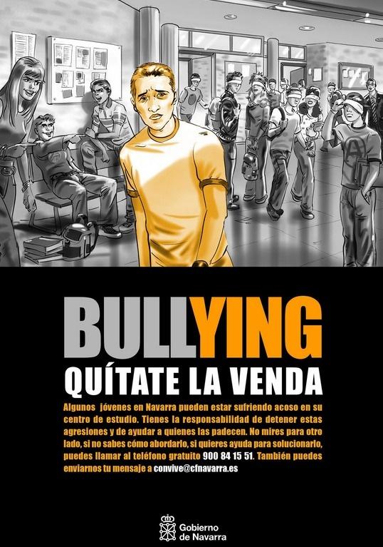 Contra el acoso escolar, tolerancia cero.