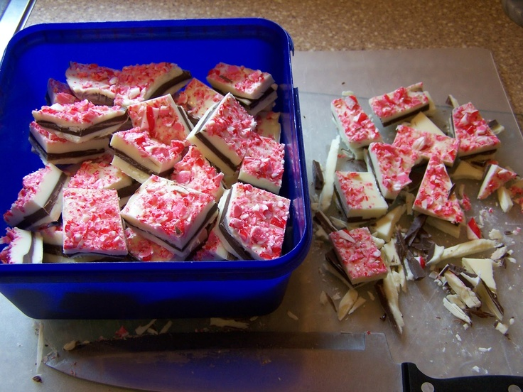 Lilly-Belle Makes The Internet: Peppermint Bark