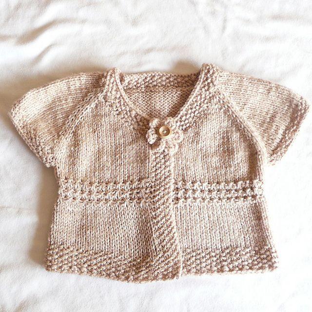 seamless baby cardigan