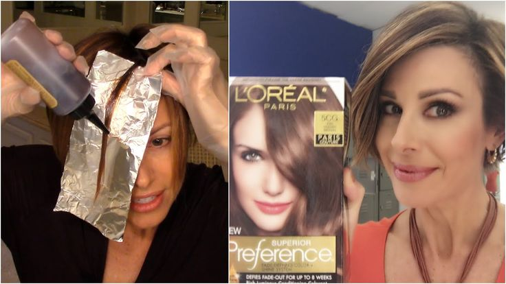 This is how I color my hair at home between salon visits. Most of us have had bad experiences with box hair color but as you can see, if used with caution gr...