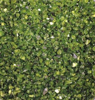 Granule ze zrcadlového skla 400g - zelené č. MD150