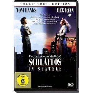 Schlaflos in Seattle (Sleepless in Seattle), 1993 - mit Tom Hanks und Meg Ryan  http://www.amazon.de/Schlaflos-Seattle-Collectors-Tom-Hanks/