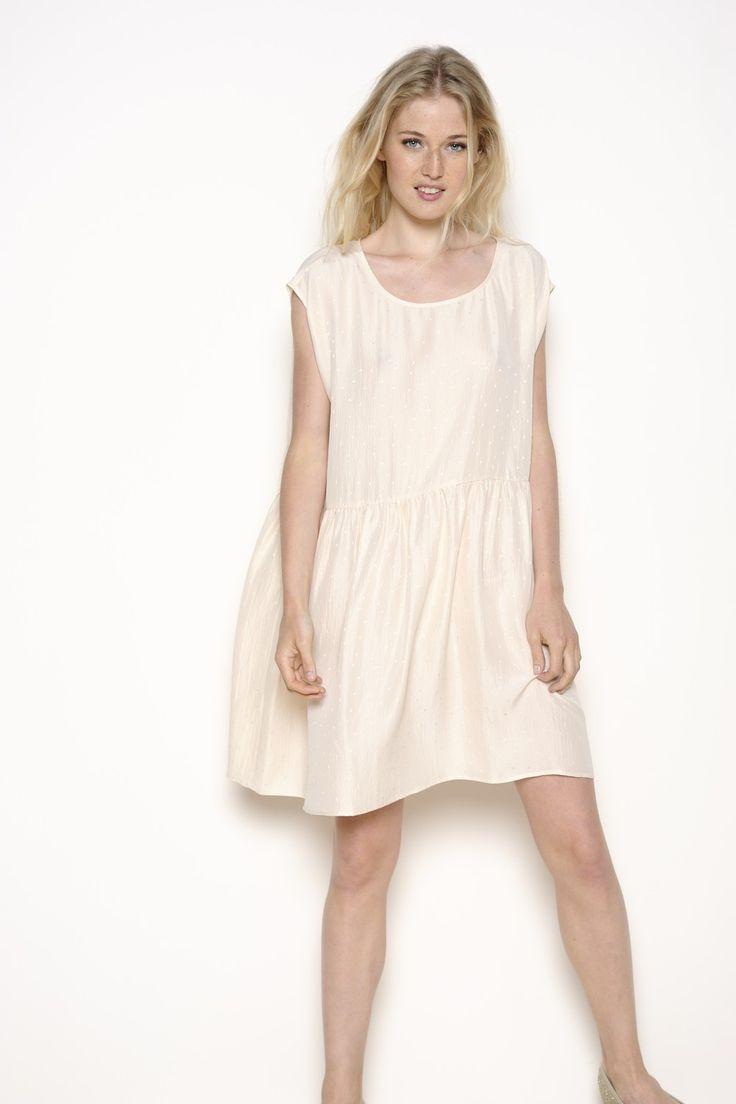 Robe Meli rose 100% soie  robe Femme  Des Petits Hauts  Robes  Pinterest