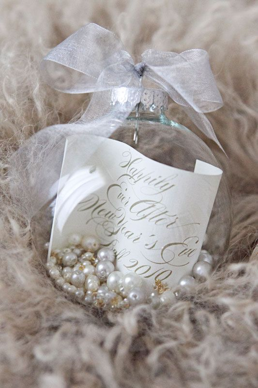 Ornament Favors Photo By Thisbe Grace Photography Weddin