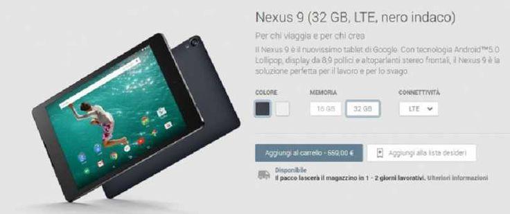 HTC Nexus 9 si aggiorna ad Android 7.0 Nougat  #follower #daynews - http://www.keyforweb.it/htc-nexus-9-si-aggiorna-ad-android-7-0-nougat/