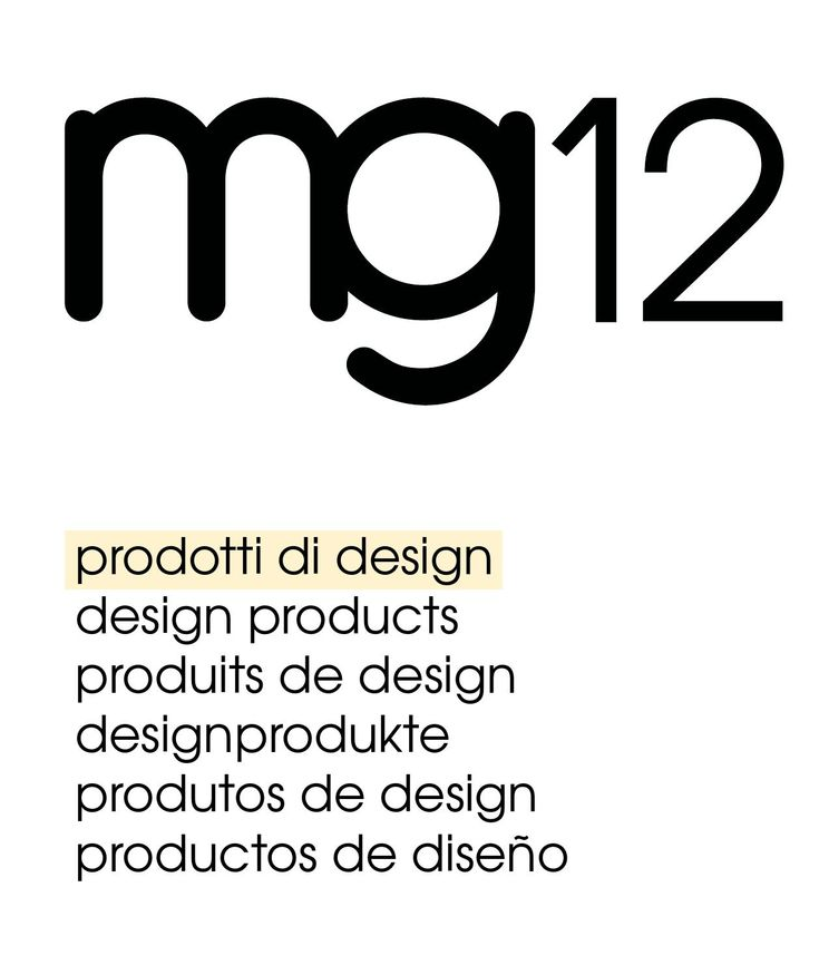Mg12 product design 2015 | 100% made in Italy  mg12 is a new design brand made in Italy and eco-friendly, without materials or sector constraints, for architects and design lovers.  www.mg12.it