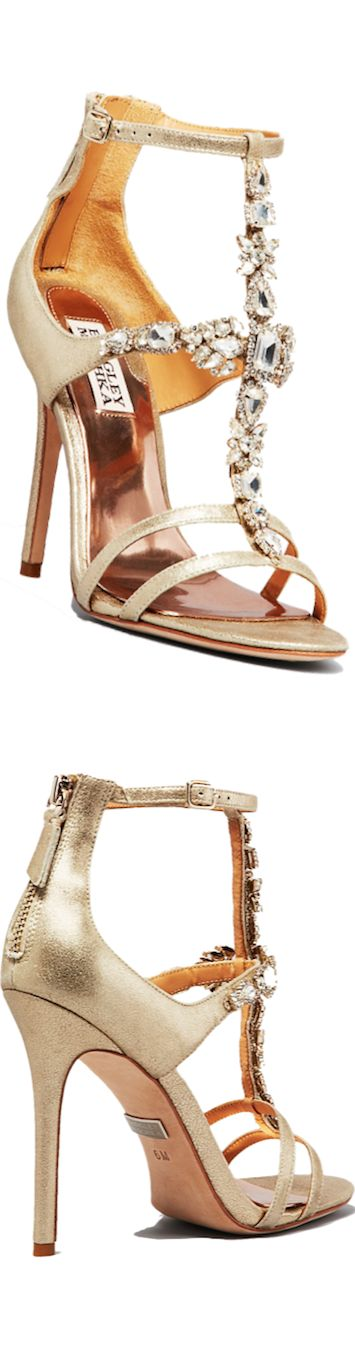Badgley Mischka Open Toe Evening Sandals Giovana II High Heel