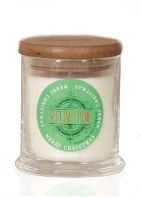 Eclectika Festive Pine Christmas Candle