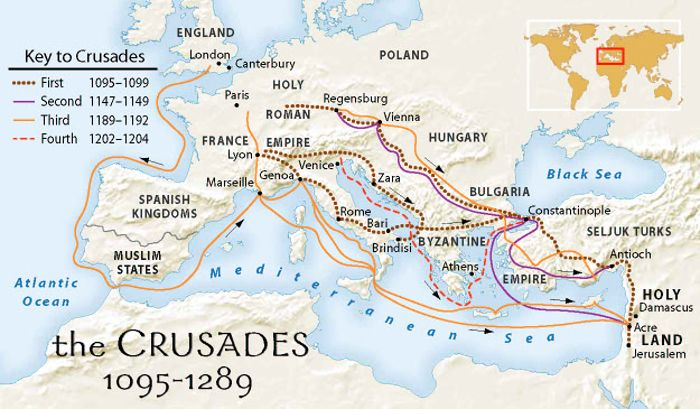 What are The Crusades of the Middle Ages