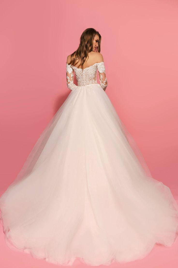 19 best Abiti da sogno images on Pinterest   Wedding frocks, Bridal ...