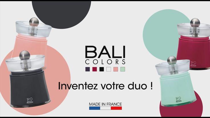 Réalisation et montage du film de présentation des moulins Peugeot Bali.