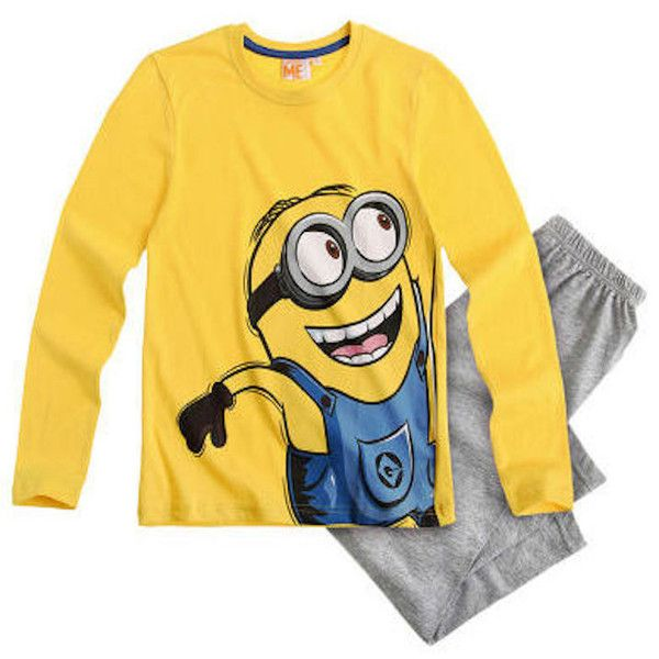 Make bedtime more fun with these fun Despicable Me Minion pyjamas! The  pyjama set features · Long Sleeve PyjamasLong Sleeve T ShirtsPyjama ...