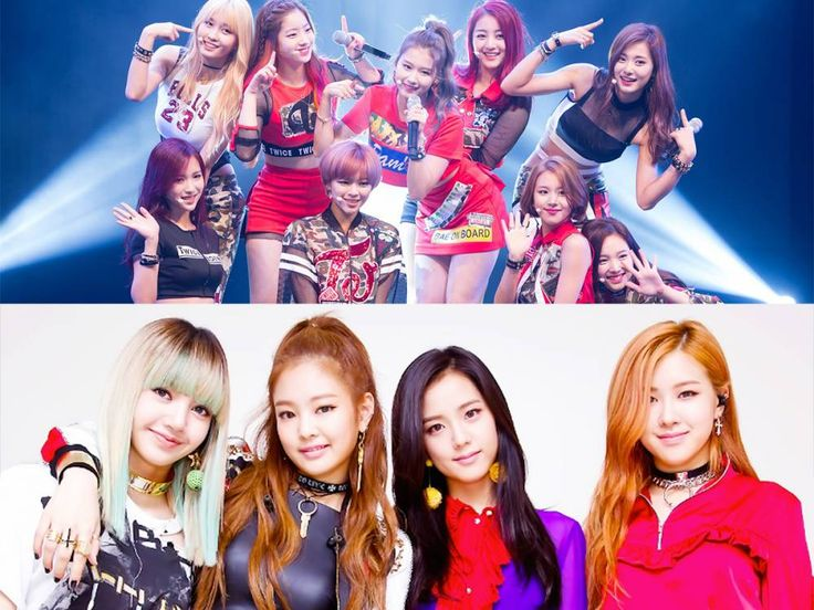 Netizens create a map of varying country sizes to show girl group popularity in 2017