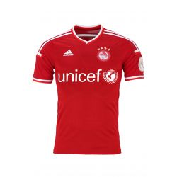 2015/16 Olympiacos Adidas Third Jersey (Red) Dominquez 10