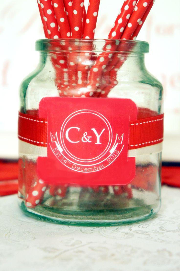 Bridal Shower logo tag