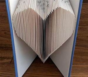 Inverted Heart Book Folding Pattern With Cuts Free Printable