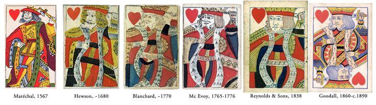 королем червей может быть Аякс Великий. Как известно, официальные источники считают, что дама Червей — Елена Троянская (Прекрасная) — прекраснейшая из женщин в древнегреческой мифологии. К слову, дама пик — Афина, греческая богиня войны, Трефовая дама – Аргия (или же Аргея) – царица из древнегреческой мифологии. Так вот, Аякс Великий являлся одним из женихом Елены и покончил с собой при помощи меча. Ту