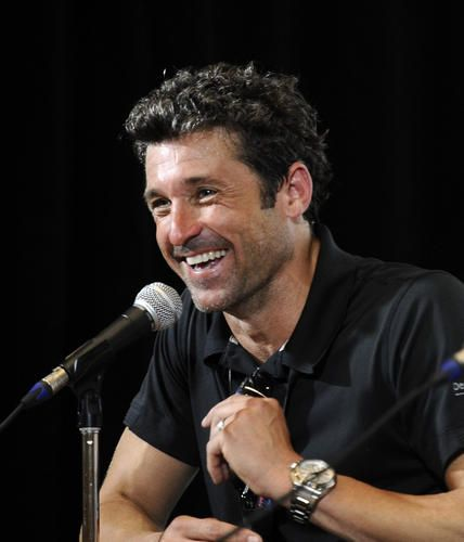 During a press conference, actor and race car driver Patrick Dempsey talks about endurance racing, cycling and fundraising for the Patrick Dempsey Center for Cancer Hope & Healing. On Aug. 31, Dempsey will be the driver of the No. 27 Porsche in the Grand Prix of Baltimore American Le Mans Series (ALMS) race.