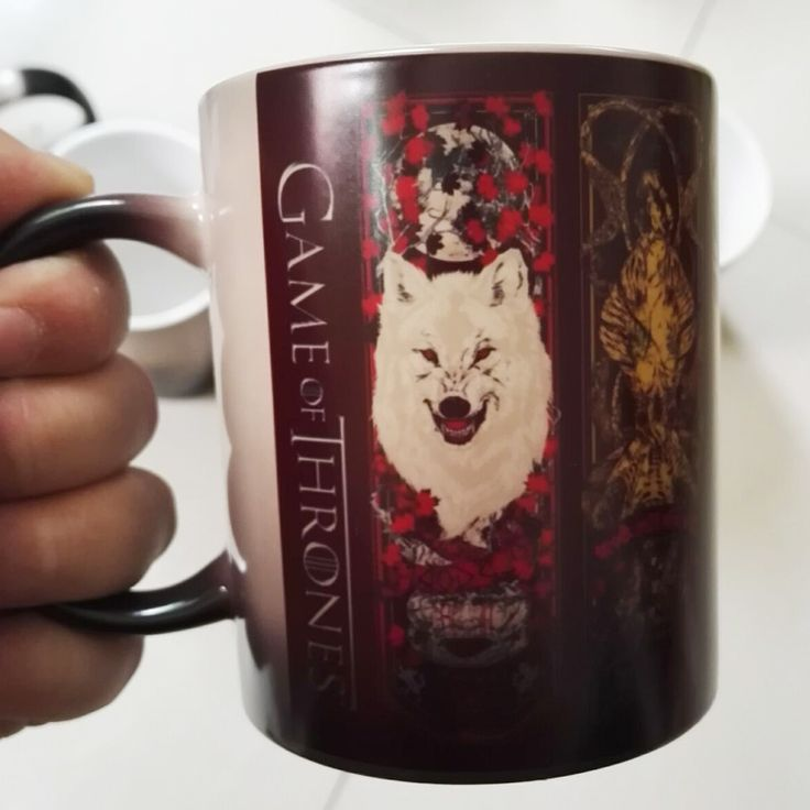 Game Of Thrones Mugs Tribal Totem Color Changing Magic Mugs //Price: $20.00 & FREE Shipping //     #gameofthrones