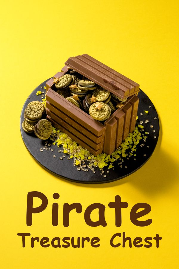 Pirate treasure chest. For the recipe, visit www.dollarsweets/recipes